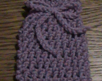 Purple Soap Saver Sack / Pouch