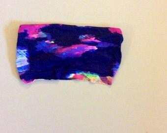 Purple Watercolor Adult Headband