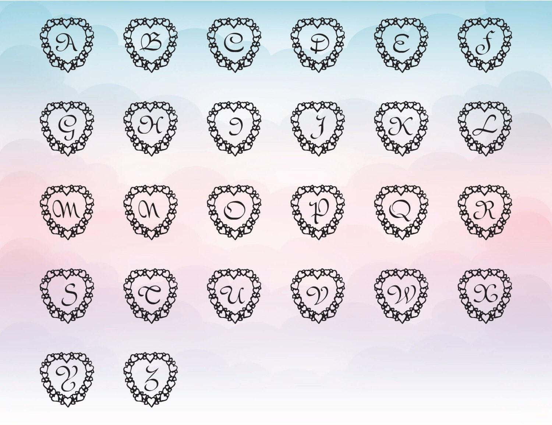 svg font heart font heart script letters heart vector heart