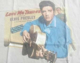 HOT RARE ITEM!!!! Elvis presley love me tender tshirt!!!!!