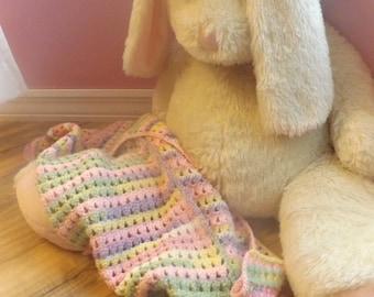 crochet baby girl blanket