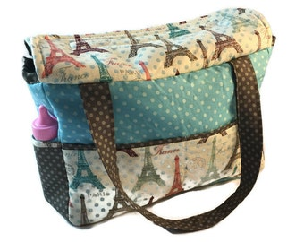 Doll Diaper Bag, pretend play, doll accessories