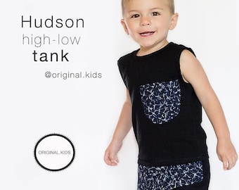 Hudson Sleeveless Hi-Lo