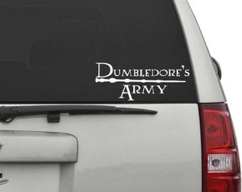 Dumbledore's Army | Harry Potter Decal | Car decal | Laptop-Tablet decal
