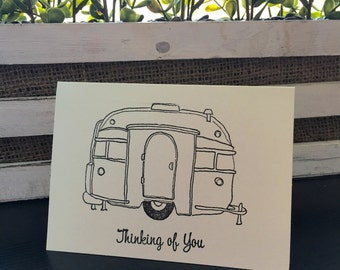 Camper 'Thinking of You' Card