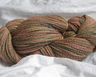 Merino wool with bamboo fibers, finest knitting wool, hand spun, 100 g