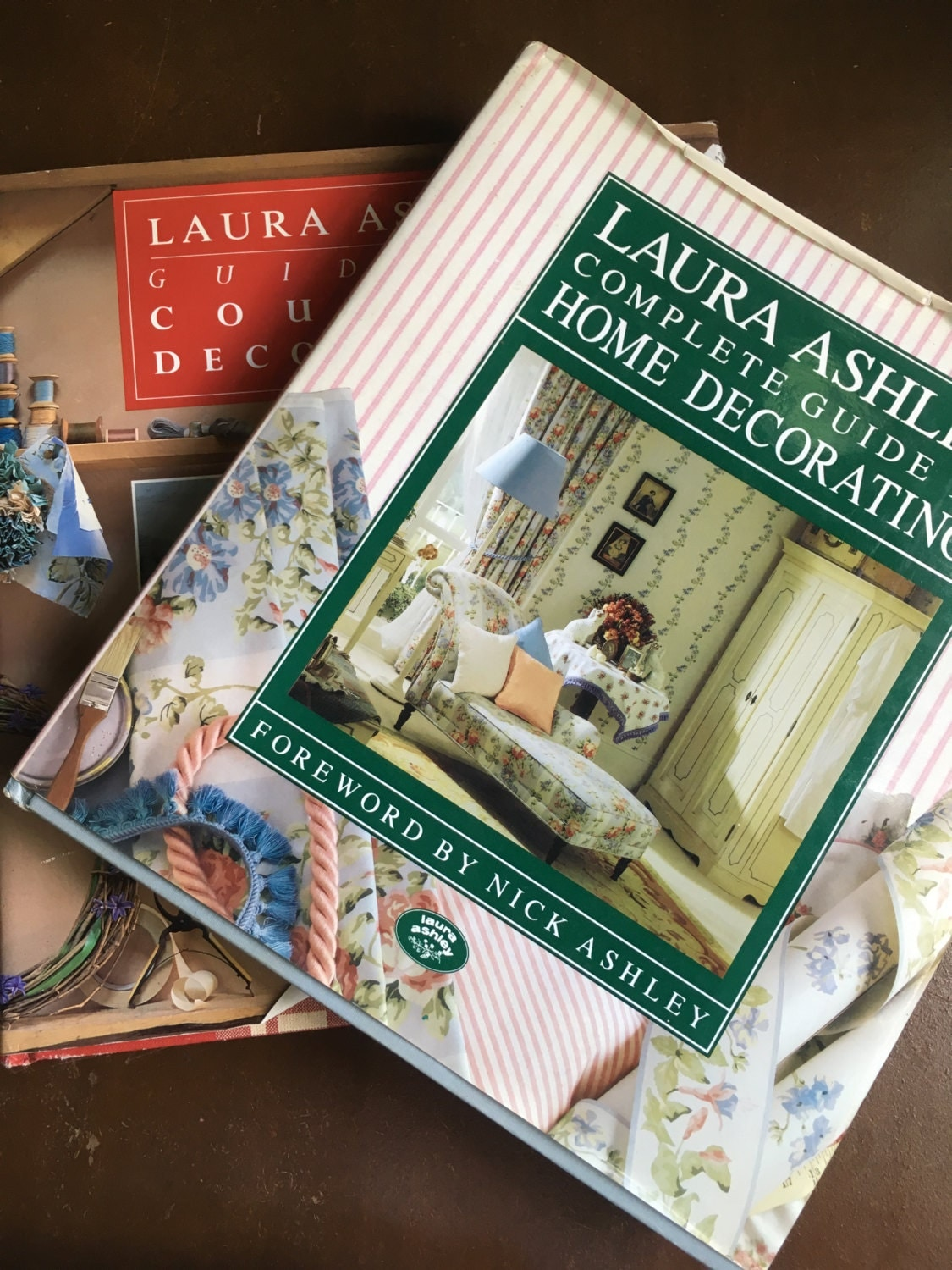 Vintage Laura Ashley Home Decorating And Country Decorating Books First Editions 1989 1992