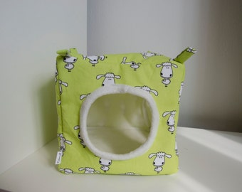 Cube/hammock for small pets (rats, guinea pig, ferret, ...)