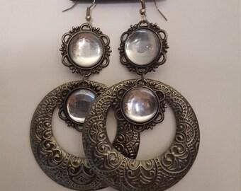 Women Moon Dangle and Drop Earrings