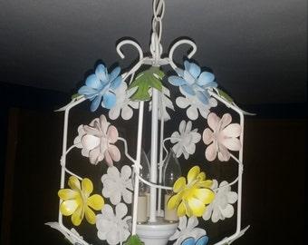 Vintage Floral light fixture