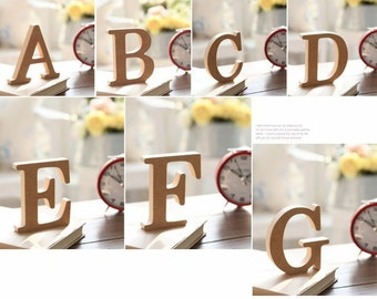 Custom block letters
