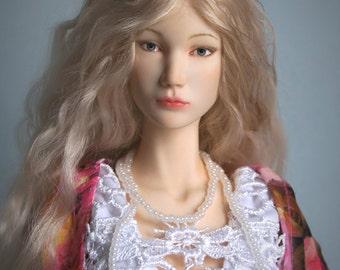 "OOAK Resin BJD art doll by Elena Kokorina (40 cm / 15,7"")"