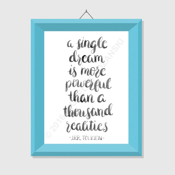 A single dream is more powerful than a thousand by ShopStudioM