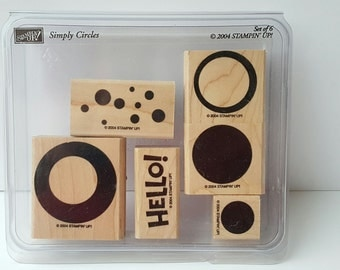 Simply Circles - Stampin' Up! Rubber Stamp Set