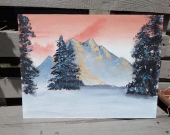 Mountain Landscape Painting