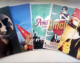 Amelie dividers for personal planner 6 ring hole