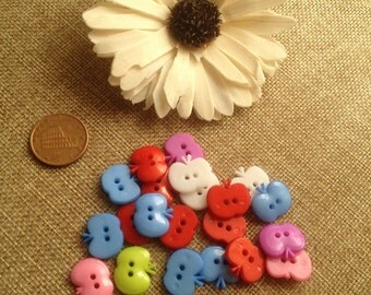 colored plastic buttons