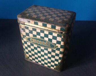 Box iron vintage chicory