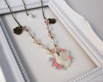Spring Dove Necklace