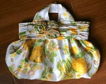 Bag from repurposed dress