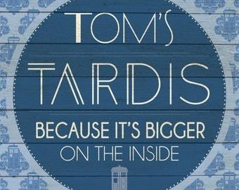 Custom Tardis Sign Digital Download