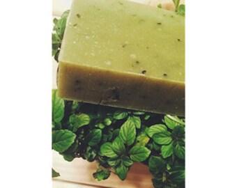 Organic Peppermint Leaf 4oz bar