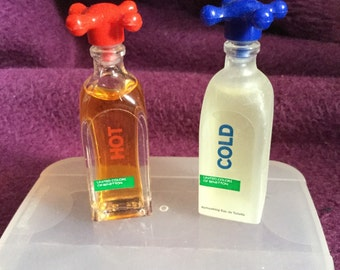 Vintage Miniature Perfumes Hot and Cold by United Colours of Benetton