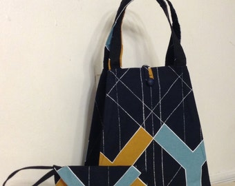 Large Hobo Tote and Clutch
