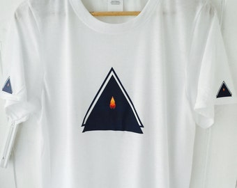 Candle Light Triangle T Shirt