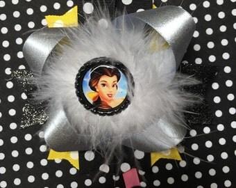 6 inch Belle hair bow