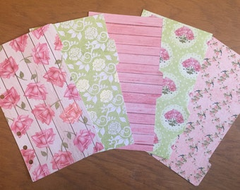REDUCED Lime & Pink Dividers