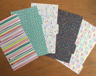 Star & Patterned Personal Dividers