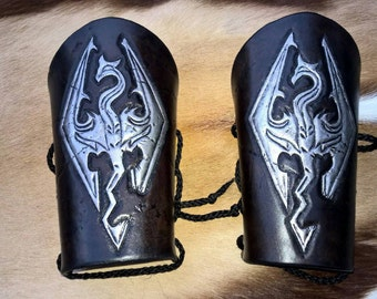 Skyrim Imperial Leather Bracers