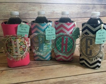 water bottle/cup wraps monogrammed - ships within 2 business days.