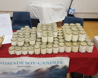 100% all Natural Soy Candles