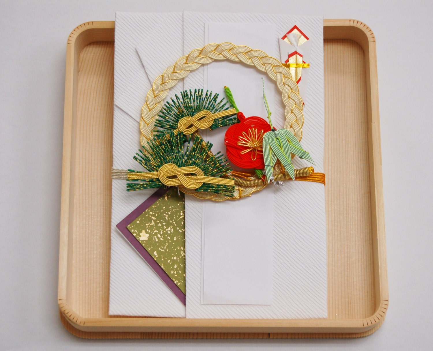 Japanese Gift Envelopes pinebamboo and plum Wedding Gift