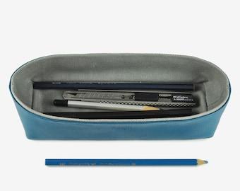 Storage Box, Pencil Case, Desk Organizer, Storage Container, Navy Blue