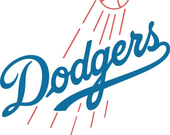 Los Angeles Dodgers Decal/Sticker