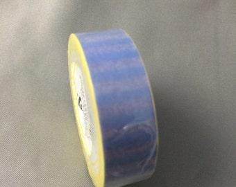 Blue and Purple Striped Washi tape