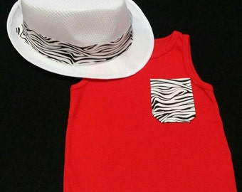 Zebra chic set
