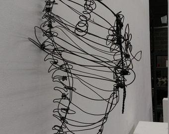 Wire rib cage