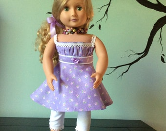 American Girl Doll Two Piece Outfit