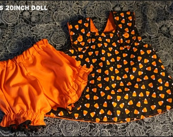 Halloween doll 2 piece outfit