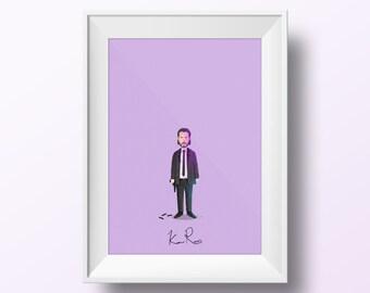 Keanu Reeves - John Wick Poster