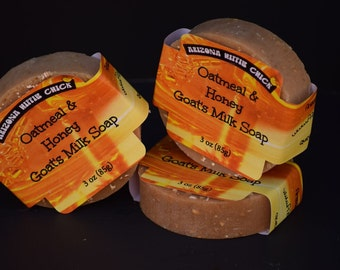 Oatmeal and Honey Goat's Milk Soap