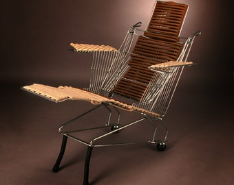 Chaise Lounge Cart by Marcello Garofalo