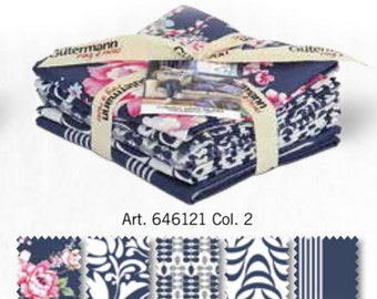 Fat quarters bundle guetermann, fat quarters bundle, fat quarters, 100% cotton, cotton fabric