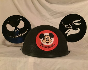 Nightmare Before Christmas Mickey Ears Hat