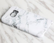 White Marble Samsung Galaxy S7 Edge Case S7 case Samsung S6 Edge Plus Case Galaxy S6 Edge S6 S5 S4 Case Galaxy Note 5/4/3/2 Case  KB-0876