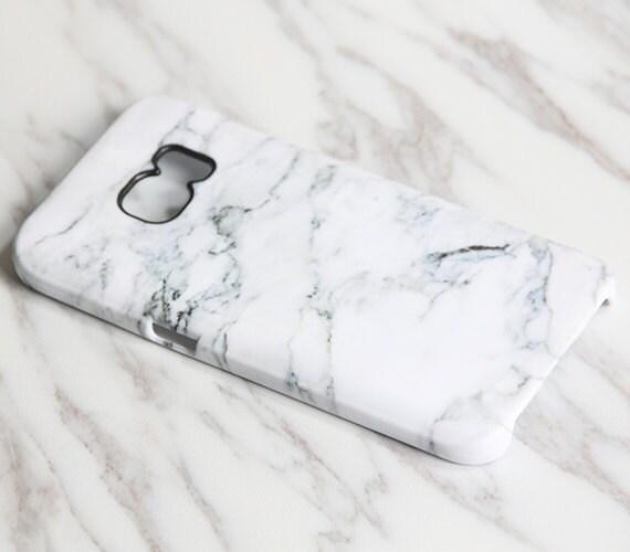 White Marble Samsung Galaxy S7 Edge Case S7 Case Samsung S6